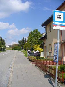 Obecká - nejbližší zastávka autobusu 58